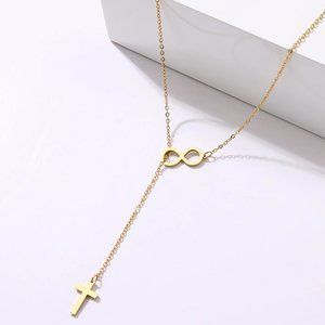 Dainty Cross Shape Necklace